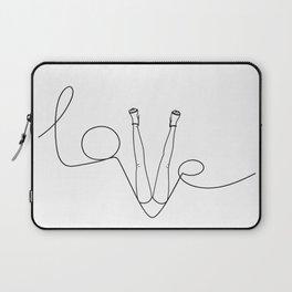 Man & LoveMe Laptop Sleeve