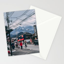 Winter in Nikko Stationery Cards