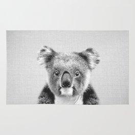 Koala - Black & White Rug