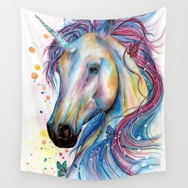 Whimsical Unicorn Wall Tapestry