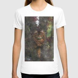 Wild Cat - Tree-hugger T-shirt