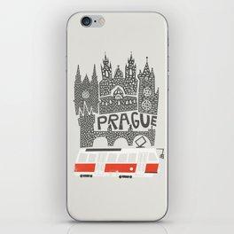 Prague Cityscape iPhone Skin
