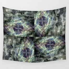 Scaffold Of Time Wall Tapestry