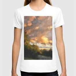 An August Sunset T-shirt
