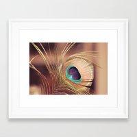 metallic Framed Art Prints featuring Metallic by BURNEDINTOMYHE∆RT♥