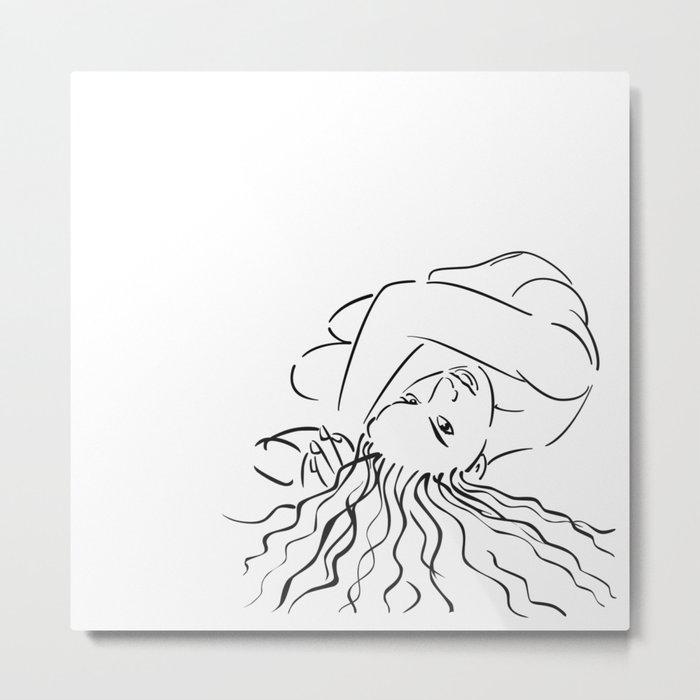 Essential Woman Metal Print