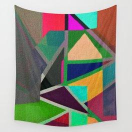 Complicerend Piet Mondriaan Wall Tapestry
