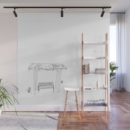 a place to rest Wall Mural
