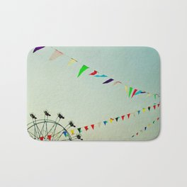 summer festival Bath Mat