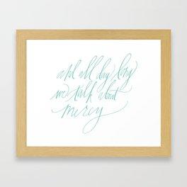 """Sadie"" (Joanna Newsom) Framed Art Print"