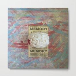 Memory Metal Print