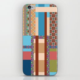 All about pattern 4 iPhone Skin