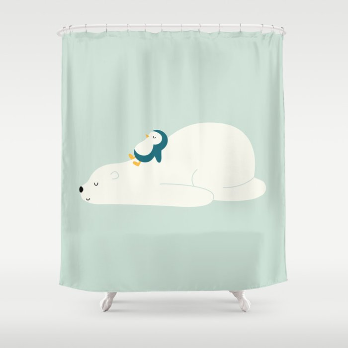 Time To Chill Shower Curtain