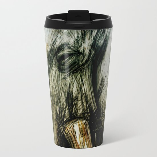 African Elephant Metal Travel Mug