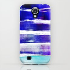 waves - indigo Galaxy S4 Slim Case