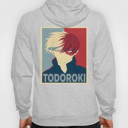Todoroki Shouto My Hero Academia Hoody