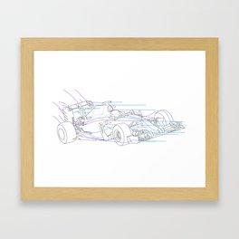 Toro Rosso STR11 Framed Art Print