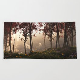 Skygate (Autumn) Beach Towel
