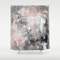 morocco Shower Curtains featuring Morocco by Solveig Noll