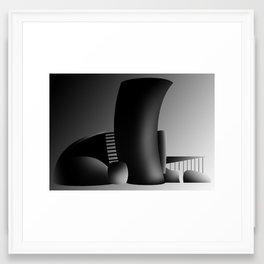 Black Archi' Framed Art Print