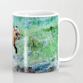 Yukon Wildlife  - Red Fox Coffee Mug