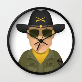 Bill Kilgore Wall Clock