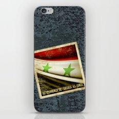 STICKER OF SYRIA flag iPhone & iPod Skin