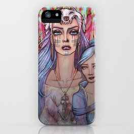 Women Who Run with the Wolves iPhone Case