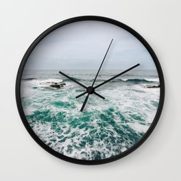 Emerald Love San Diego, California Wall Clock