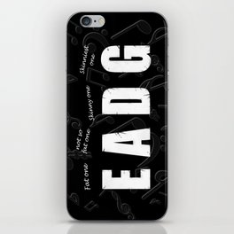 Bass Player iPhone Skin