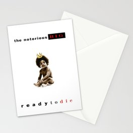 The Notorious B.I.G. Ready to Die Poster Print Stationery Cards
