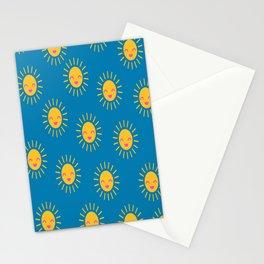 Little Sunshine (blue) Stationery Cards