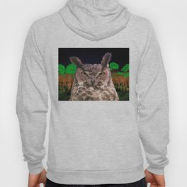 The Owlbserver In The Forest Hoody