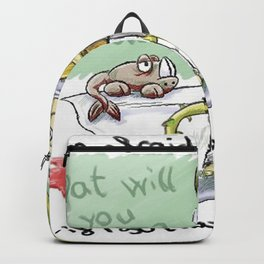 Afraid of monsters Backpack