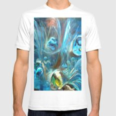 Under the sea Mens Fitted Tee White MEDIUM