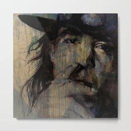 Stevie Ray Vaughan @2 Metal Print