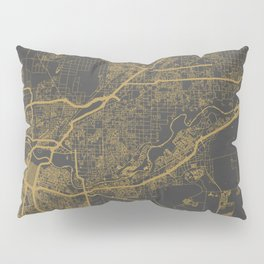 Sacramento Map Pillow Sham