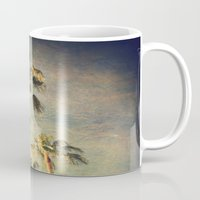 palms Mugs featuring palms by Sylvia Cook Photography