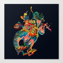 Mounted: Yabusame (Mounted archery) Canvas Print