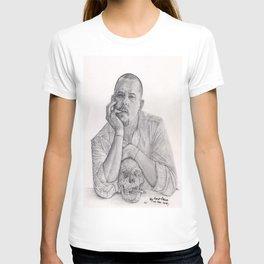 Alexander McQueen Savage Beauty Drawing T-shirt