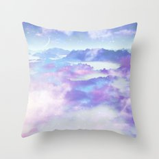 Dreaming landscape Throw Pillow