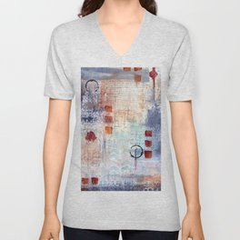 abstract collective: lazy dayz Unisex V-Neck
