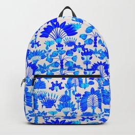 Exotic Garden Blue Backpack