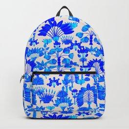 Exotic Garden Blue Backpack
