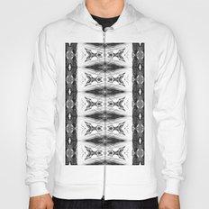 Pattern #4 - White Hoody