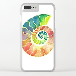 Ammonite Clear iPhone Case