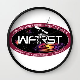 WFIRST Program (IPAC) Logo Wall Clock