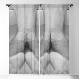 Man in Bathtub Blackout Curtain