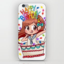 Birthday Chibi iPhone Skin