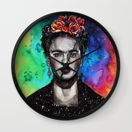 Frida Kahlo Wall Clock